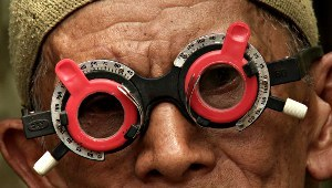Una scena di The Look of Silence