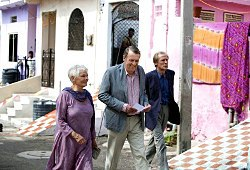 Judi Dench, Tom Wilkinson e Bill Nighy in Marigold Hotel