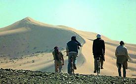 Una scena di Marrakech Express
