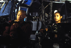 Laurence Fishburne e Jada Pinkett Smith