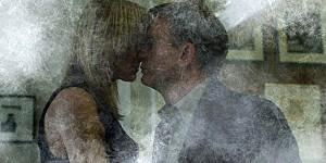 Robin Wright e Daniel Craig in una scena di Millennium