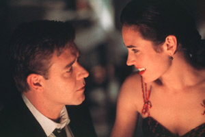 Russell Crowe e Jennifer Connelly in A Beautiful Mind