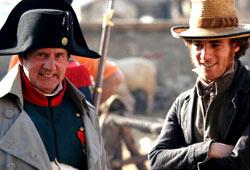 Daniel Auteuil ed Elio Germano  in N. - Io e Napoleone
