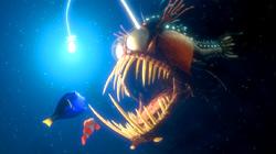 Dory e Marlin fanno un pessimo incontro in Alla ricerca di Nemo