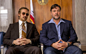 Ryan Gosling e Russell Crowe in The Nice Guys
