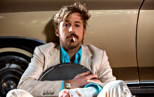 Ryan Gosling in una scena di The Nice Guys