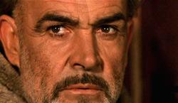 Sean Connery in Il Nome della Rosa