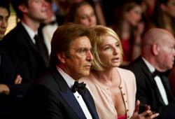 Al Pacino e Ellen Barkin in Ocean's 13