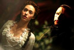 Emmy Rossum e Gerard Butler