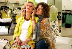 Blythe Danner e Barbra Streisand in Mi presenti i tuoi