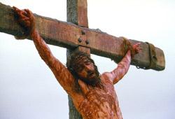 Jim Caviezel in La passione di Cristo