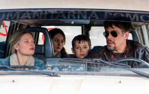 Melanie Thierry, Olga Kurilenko, Eldar Residovic e Benicio Del Toro in Perfect Day