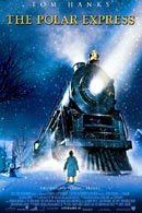 La locandina statunitense di Polar Express