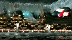 Una scena di Poseidon