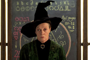 Maggie Smith in Harry Potter e la pietra filosofale