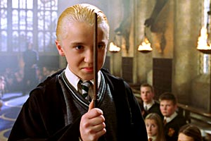 Tom Felton in Harry Potter e la Camera dei Segreti