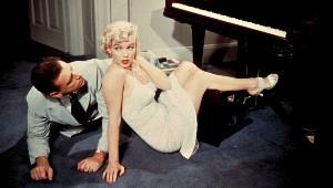 Tommy Ewell e Marilyn Monroe in un'immagine pubblicitaria
