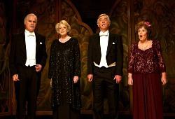 Billy Connolly, Maggie Smith, Tom Courtenay e Pauline Collins in Quartet