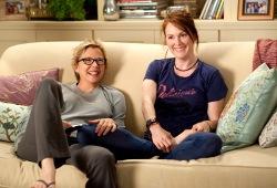 Annette Bening e Julianne Moore in I ragazzi stanno bene