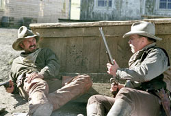 Kevin Costner e Robert Duvall in Terra di confine