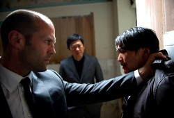 Jason Statham in una scena di Redemption
