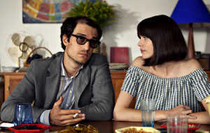 Louis Garrel e Stacy Martin in Il mio Godard
