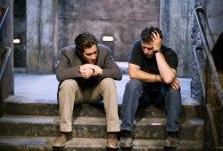 Jake Gyllenhaal e Gavin Hood sul set di Rendition