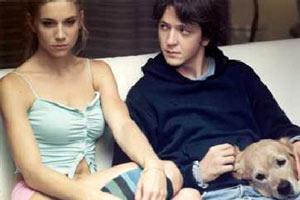 Nicoletta Romanoff e Silvio Muccino in Ricordati di me