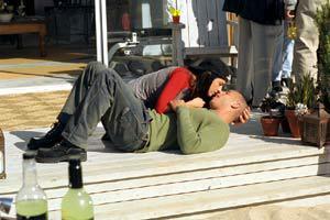 Jacqueline Obrados e Vin Diesel in Il risolutore