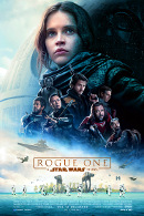 La locandina di Rogue One: A Star Wars Story