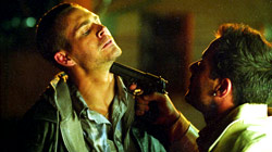 Paul Walker e Johnny Messner in una scena di Running