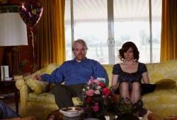 Philip Seymour Hoffman e Laura Linney in La famiglia Savage
