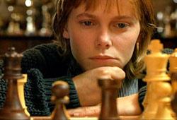 Barbora Bobulova in La regina degli scacchi