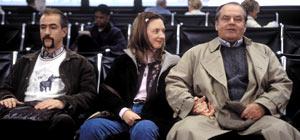 Dermot Mulroney, Hope Davis e Jack Nicholson in A proposito di Schmidt