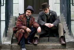 Robert Downey Jr e Jude Law in Sherlock Holmes