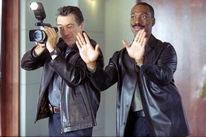 Robert De Niro e Eddie Murphy in Showtime