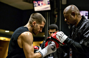Jake Gyllenhaal e Forest Whitaker in Southpaw