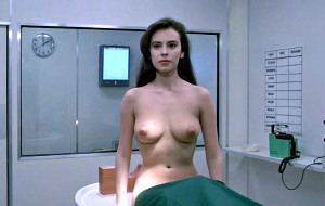 Mathilda May in Space Vampires