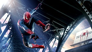 Una scena di The Amazing Spider-Man