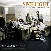 La copertina del CD di Il caso Spotlight