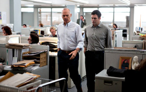 Michael Keaton e Mark Ruffalo in Il caso Spotlight