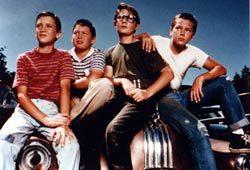 Wil Wheaton, Jerry O'Connell, Corey Feldman e River Phoenix