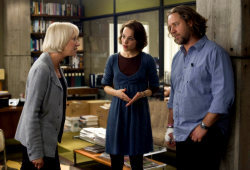 Helen Mirren, Rachel McAdams e Russell Crowe in State of Play