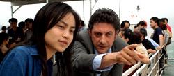 Tai Ling e Segio Castellitto in La stella che non c'è