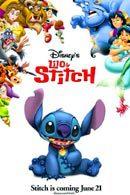 La locandina statunitense di Lilo & Stitch