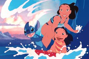 Stitch, Nani e Lilo in Lilo & Stitch