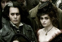 Johnny Depp e Helena Bonham Carter in Sweeney Todd