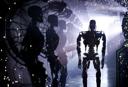 Una scena di Terminator Salvation