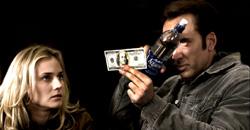 Diane Kruger e Nicolas Cage in Il mistero dei Templari