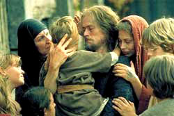 Willem Dafoe in una scena di L'ultima tentazione di Cristo